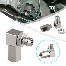 90°O2 Oxygen Sensor Spacer Engine Light CEL Check Bung Mini Catalytic Converter