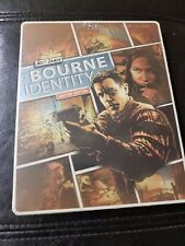 The Bourne Identity (Blu-ray/DVD, 2014, 2-Disc Set - Ltd Edition - Steel-book)