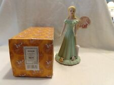 Vtg Growing Up Girls By Enesco E2315 Porcelain bisque Blonde 15yr Birthday;Nib