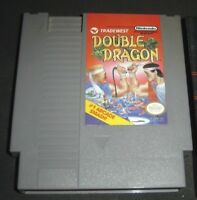 Double Dragon (Nintendo Entertainment System, 1988) NES Video Game