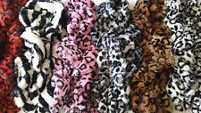 Joblot 12 pcs Fluffy Faux Fur Twist Spiral Stretch Scarf Neck Wrap wholesale A