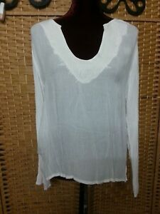 LADIES TREE OF LIFE PEACE ANGEL BOHO TOP FIT APPROX 14