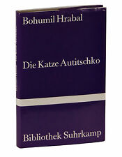 Die Katze Autitschko SIGNED by BOHUMIL HRABAL ~ First Edition 1st  Auticko Czech