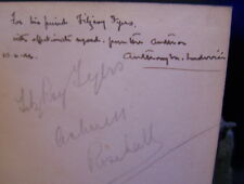 ANTHONY LUDOVICI SIGNED A DEFENCE OF ARISTOCRACY FITZROY FYERS RARE AUTOGRAPH