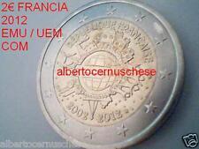 2 euro 2012 fdc FRANCIA france frankreich França 10 EMU UEM COM TYE Франция