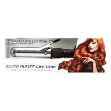 Silver Bullet City Chic 38mm Curling Iron Silverbullet Free Postage