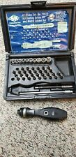 SK Ratcheting driver bit set and Metric Socket - used