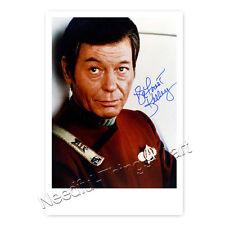 DeForest Kelley / Dr. McCoy (1920–1999)  aus Star Trek  Autogramm [A1] 