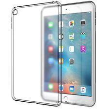 Apple iPad Mini 4 Case Soft TPU Skin Flexible Bumper Semi-transparent Full Cover