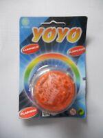 JoJo mit Blinklicht, rot, YoYo, 5,5 x 3 cm, Batterien inklusive