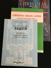 Noels (Louis-Claude Daquin), Christmas Organ Album, and The Christmas Organist