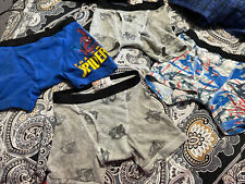 4 Pair Of Fruit Of The Loom Boys Boxer Briefs Size 4
