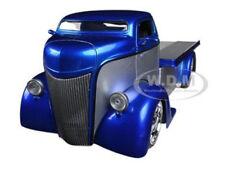 1947 FORD COE SILVER / BLUE 1/24 DIECAST MODEL CAR BY JADA 96959