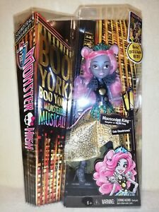 Monster High Mouscedes King Boo York 2014 BNIB. OH NO, STILL ONE PESKY RODENT!