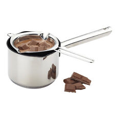 Chocolate Melting Mould Butter Candy Sauce Milk Stainless Kitchen Pot Bowl Spoon