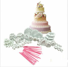 New 47 pcs Sugarcraft Cake Decorating Fondant Icing Plunger Tools Mold Mould