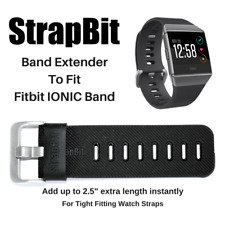 Band Extender made to fit Fitbit IONIC Band for wrist or ankle wear
