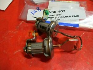 TOYOTA CELICA-COROLLA-4RUNNER-PICK-UP -CAMRY-NOVA 1983-91 DOOR CYLINDER LOCK