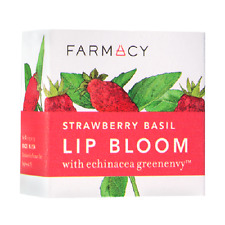 FARMACY LIP BLOOM STRAWBERRY BASIL FULL SIZE SEALED IN BOX ALL NATURAL