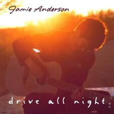 JAMIE ANDERSON - Drive All Night (CD 1999) USA First Edition EXC Folk-Pop
