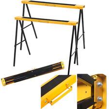 Gelb 2er Set Arbeitsböcke Falt-Arbeitsböcke Stützbock Klappbock 240KG