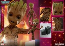 Hot Toys Guardians Of The Galaxy 2 Groot 1/1 Life Size Figure LMS005 NISB SEALED