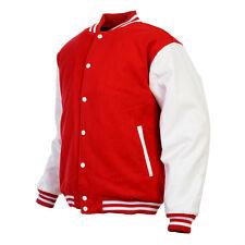 Unisex Varsity Style Fashion Letterman University College Baseball Jacket New