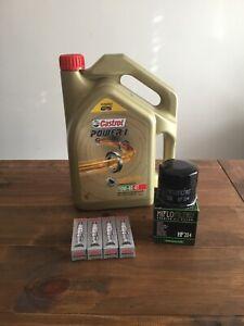 Honda CBR1000RR SC59 2008-2013 Service Kit (Engine Oil, Filter & Spark Plugs)