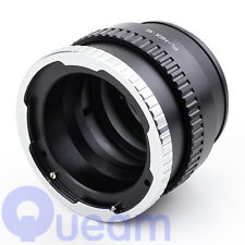 PL Lens To SONY NEX A5100 A6000 Macro-Infinity Focusing Helicoid Adapter Tube