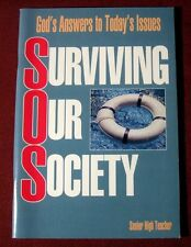 Christian Surviving Society Lesson Group Bible Senior High Guide Issues Teacher