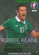 016 ROBBIE KEANE REPUBLIC IRELAND TOP QUALIFIERS CARD ADRENALYN EURO 2016 PANINI