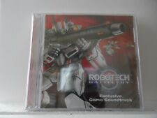 "Robotech Battlecry Video Game Soundtrack Audio Cd - New - ""Sealed"" (2)"