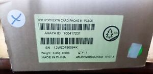 NEW Avaya IP Office Phone 8 Port Analog Expansion Card 700417231