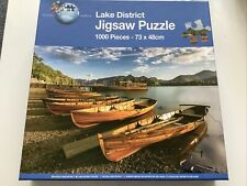 Puzzle World - Lake District 1000 Piece Jigsaw puzzle  1 Piece Missing
