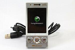 Sony Ericsson Walkman W705 Silver Mobile Phone