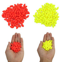 100PCS 12mm Oval Hard Rig Beads Sea Fishing Lure Floating Float Fishing Tackles