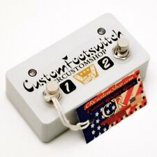 CR® CUSTOM 2 BUTTON 2 LED FOOTSWITCH FOR MESA BOOGIE RECTIFIER RECTOVERB 25 AMP