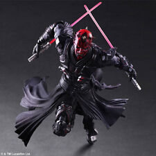 "Play Arts Kai Star Wars Darth Maul 10"" Action Figure Toys PVC Statue New in box"