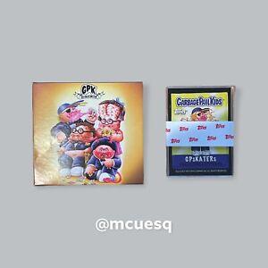 2021 Garbage Pail Kids Collector's Club Membership Set 3 GPsKATERs Sticker Set