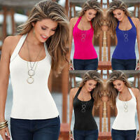 Sexy Women Fashion Summer Vest Top Sleeveless Blouse Casual Tank Tops T-Shirt
