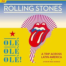 ROLLING STONES New Sealed 2017 LIVE LATIN AMERICA CONCERT & TOUR BLU RAY