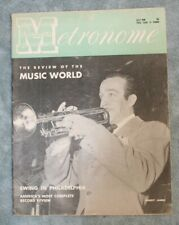 Vintage Metronome Music Magazine Jul 1946 Harry James Jazz Big Band