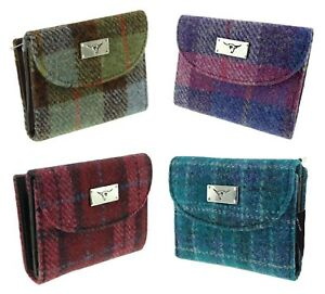 Glen Appin Harris Tweed Ladies Small Purse Jura/LB2002 Choice of Colour