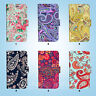 Paisley Pattern Print Flip Wallet Case Cover for HTC 10 One M7 M8 M9 081