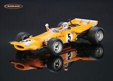 McLaren M7C Cosworth McLaren Racing F1 Frankreich 1969 Bruce McLaren, Spark 1:43