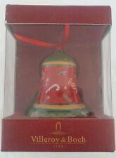 Villeroy & Boch Christmas Tree Bell Fantasy Ornament Mettlach #6874 Candy BNIB