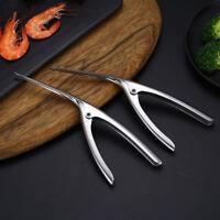 Stainless Steel Prawn Peeler Shrimp Deveiner Peel Device Creative Kitchen-Tools
