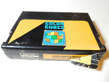 TRS-80 Color Cubes - Tandy Coco color computer cartridge - WORKS