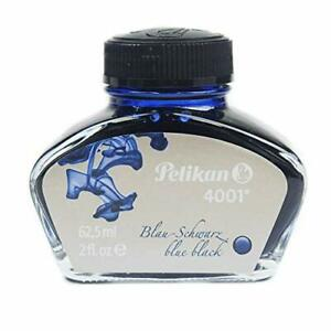 Pelikan Ink Bottle 76 Btl 4001 Blue-Black 62.5ML From Japan