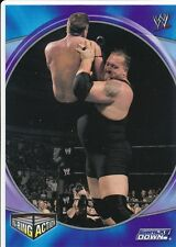 F30 BIG SHOW 2004 Topps WWE Apocalypse IN RING ACTION